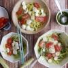 Fideos de zucchini con pesto (zucchini noodles)