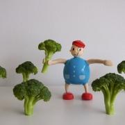 Brócoli horneado con nueces