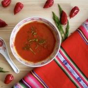 El ingrediente impredecible en la sopa de aji dulce