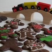 Galletas de jengibre (gingerbread men cookies)