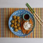 Albóndigas vietnamitas de camarones