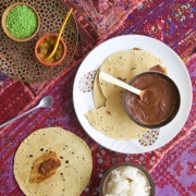 Chutney de tamarindo (imli ki chutney)