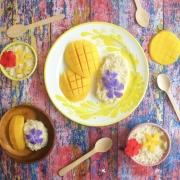 Mango Sticky Rice (o arroz thai pegajoso con mango)