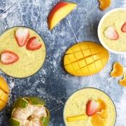 Pudín de mango, chía y mandarina