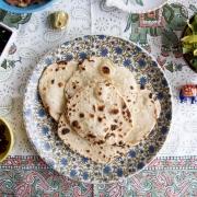 Roti: un pan indio plano