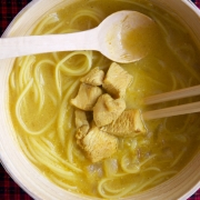 Fideos de coco (coconut noodles)