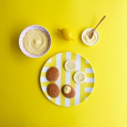 Crema dulce de limón (lemon curd)