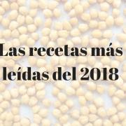 Las recetas más leídas del 2018
