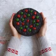 Torta negra (fruit cake)