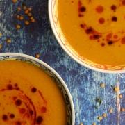 Sopa turca de lentejas rojas