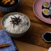 Como preparar arroz japonés