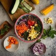 Compendio de recetas repletas de color