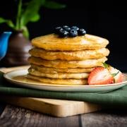 Pancakes veganas